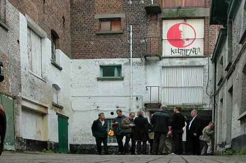 Een bezoek aan een industriële site ingericht door VVIA