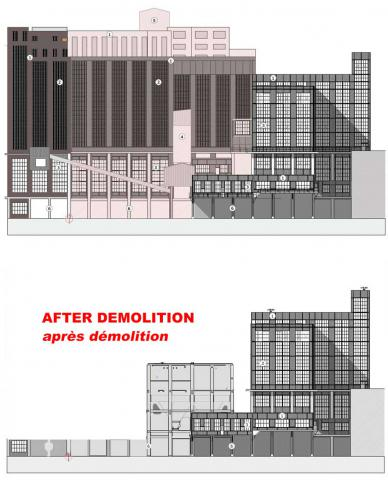 Beringen coal processing plant : before and after the planned demolition