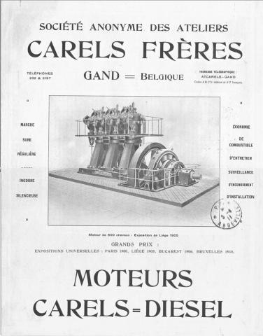Carels diesel motor