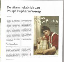 De  vitaminefabriek van Philips Duphar in Weesp