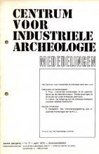 Mededelingen van het Centrum voor Industriële Archeologie, 1975, 2