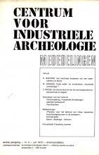 Mededelingen van het Centrum voor Industriële Archeologie, 1975, 3