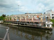 De gesloopte Scheepsdalebrug in Brugge