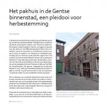 Bart NUYTINCK: Het pakhuis in de Gentse binnenstad