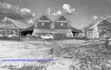 Noeveren, steenbakkerij Lauwers anno 1975 - de ringoven