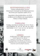 programma tentoonstelling Ons Maritiem Erfgoed