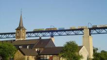 100 jaar viaduct Moresnet