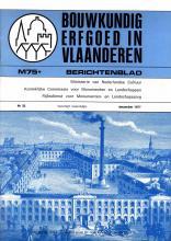 themanummer industriële archeologie van Bouwkundig Erfgoed in Vlaanderen M75+ Berichtenblad