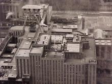 The impressive coal preparation plant of the Beringen coal mine