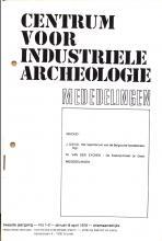 Centrum voor Industriële Archeologie. Mededelingen, jg. 1976, nr 1
